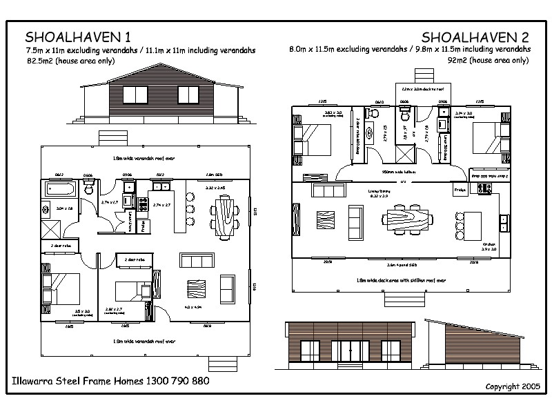 Shoalhaven kit homes House plan kits