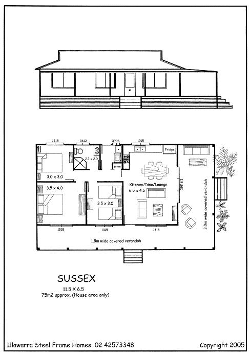 Sussex Kit Home